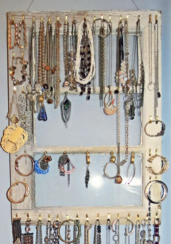 Cheap And Practical Jewellery Organizer!