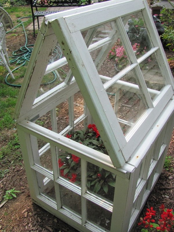 Make Your Own Small Window Based Flower House.