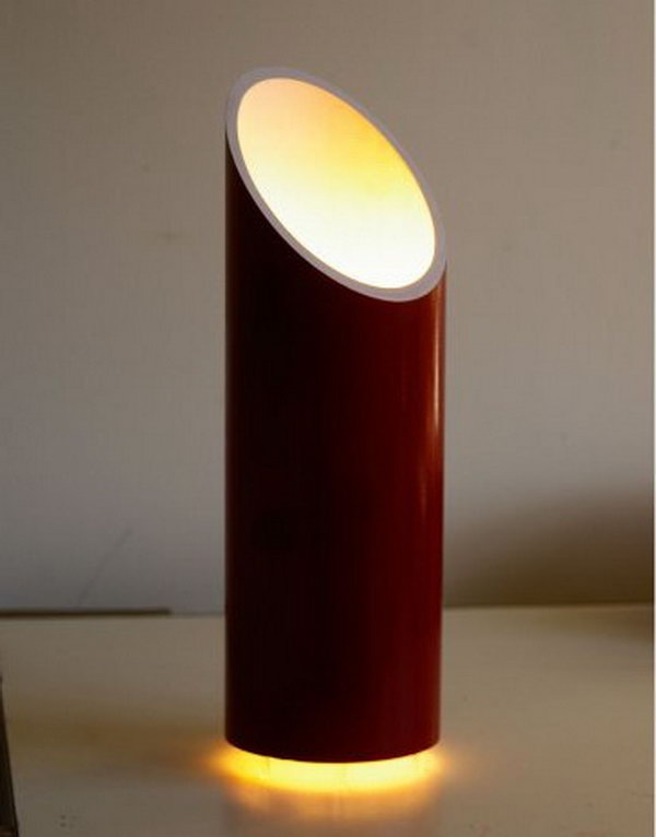 PVC Floating Accent Lamp. See the tutorial