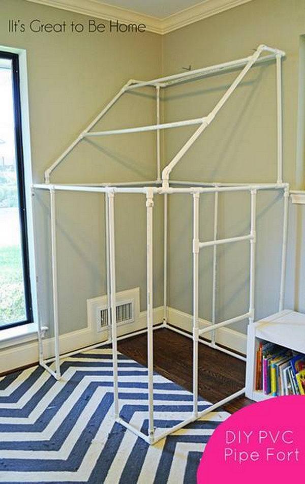 DIY PVC Pipe Fort.