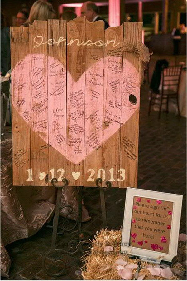 Rustic Wedding Sign Designs.