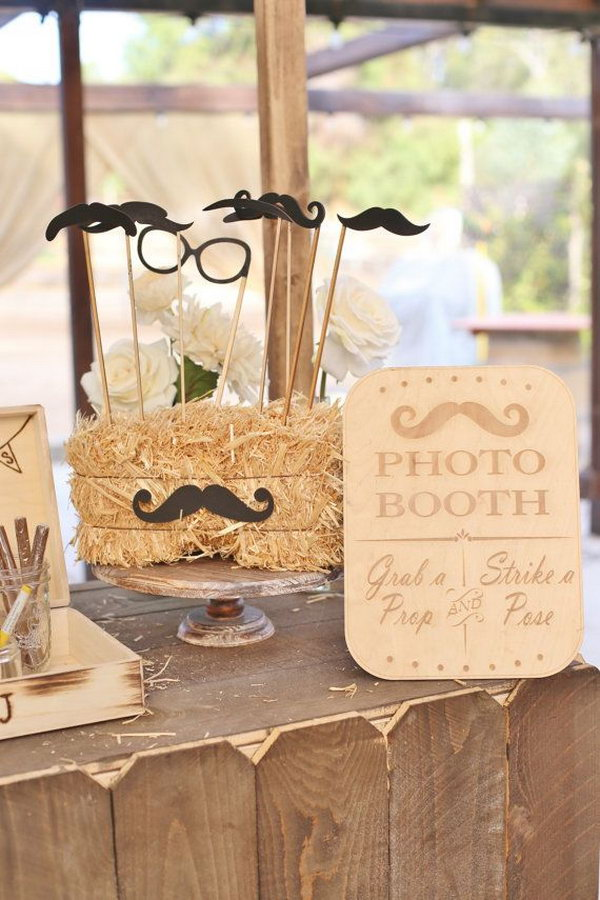 Rustic Photo Booth Sign.