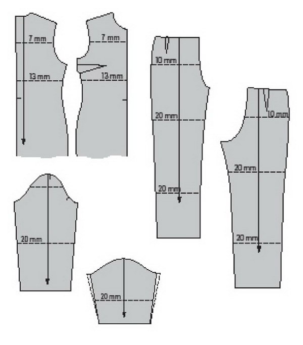 How to shorten or lengthen a pattern