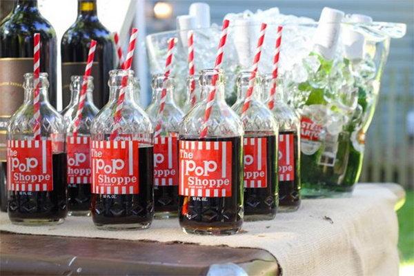 Old Fashioned Soda Pop.