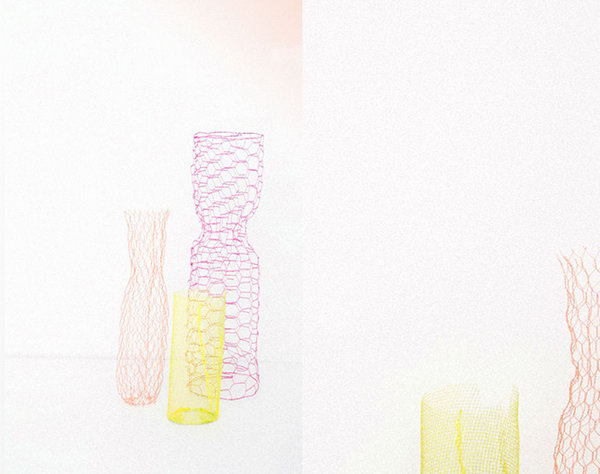 Beautiful Wire Vases. See the steps