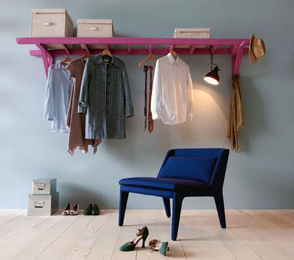23 old ladder repurpose ideas