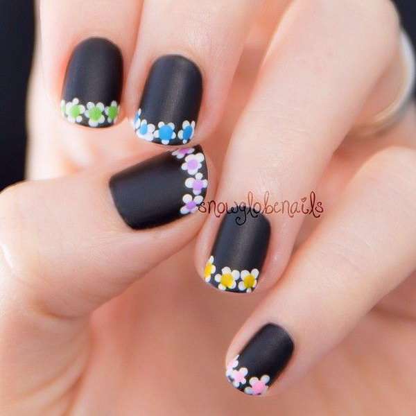 6 french tip nail designs