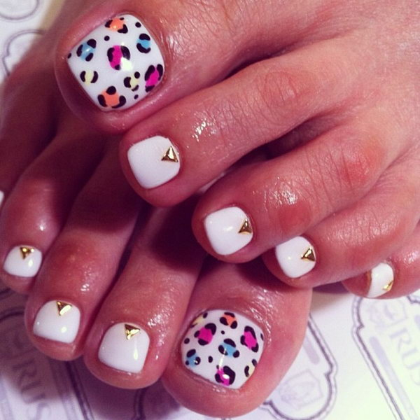 7 toe nail art designs
