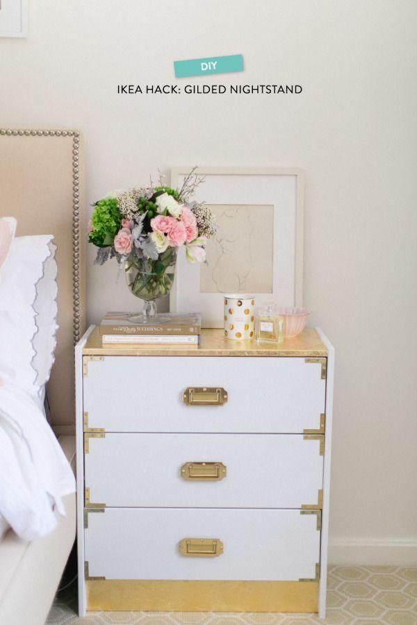 Gilded Campaign Dresser. See more details