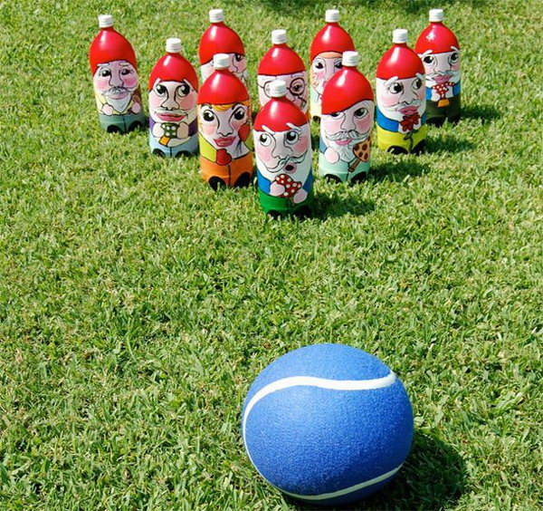 Gnome Bowling Game. Get the instructions