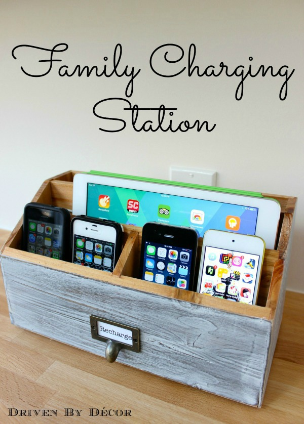 DIY Electronic Charging Station. Get the tutorial