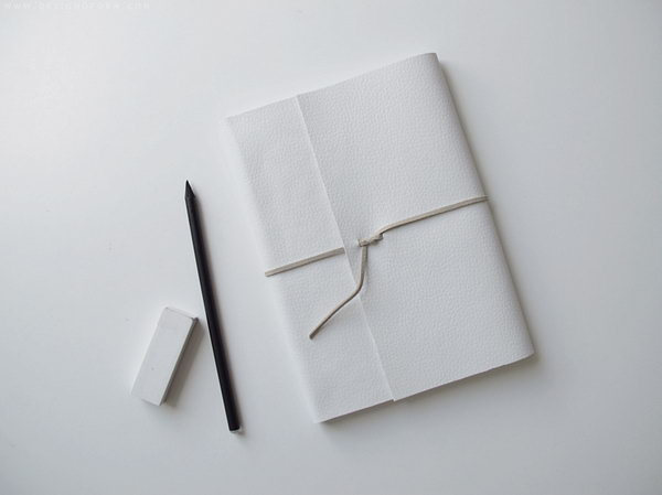 Minimalistic Leather Notebook. Get the details