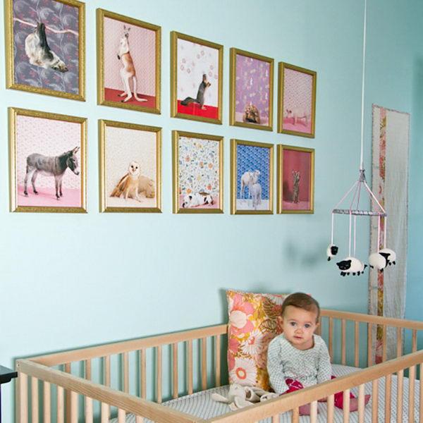 Blue Nursery Design.