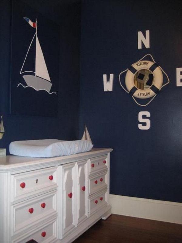 Nautical Nursery Decorating Ideas.