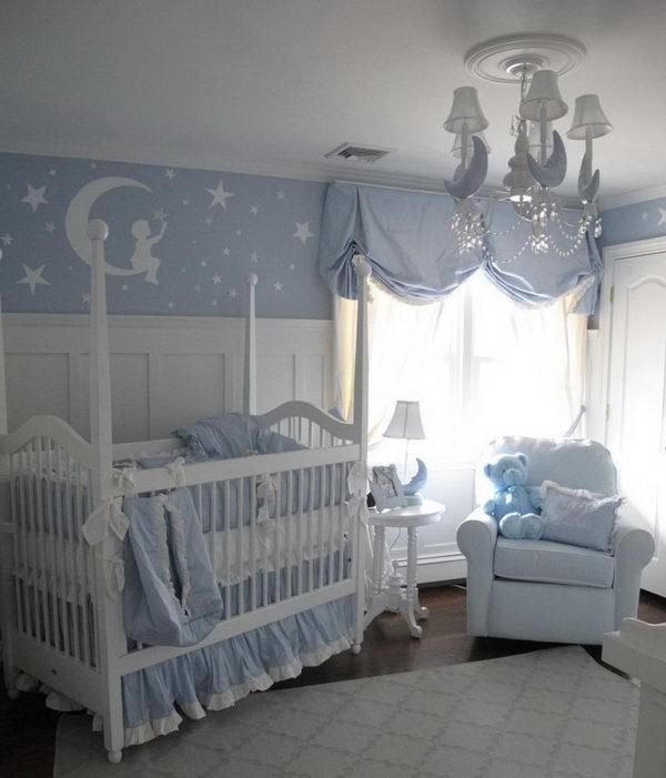 Moon and Stars Nursery.
