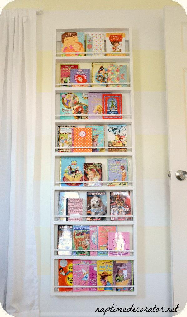 DIY Ladder Bookcase.