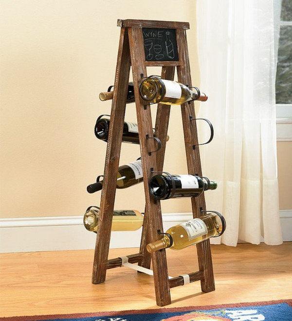 Little Ladder Wine Rack.