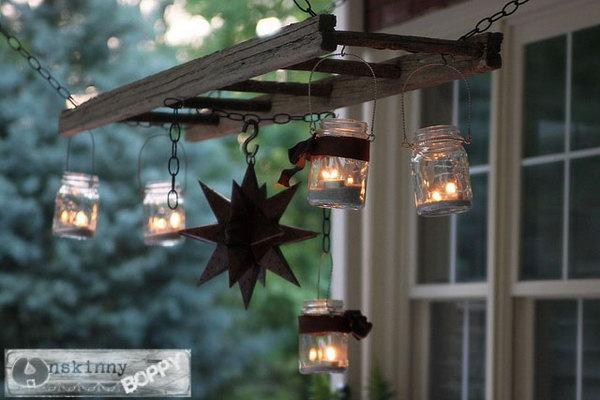 Cute Vintage Lantern Hanger.