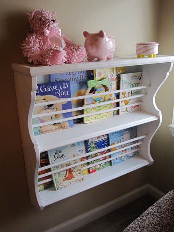 Hutch Used as Book Rack. See the directions