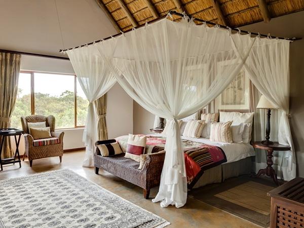 White Romantic Bedroom.
