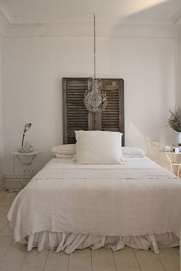 Clean and Shabby Chic Look.