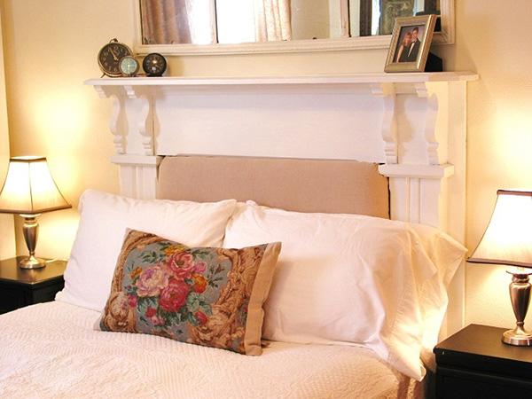 Flower Pillow Shabby Chic.