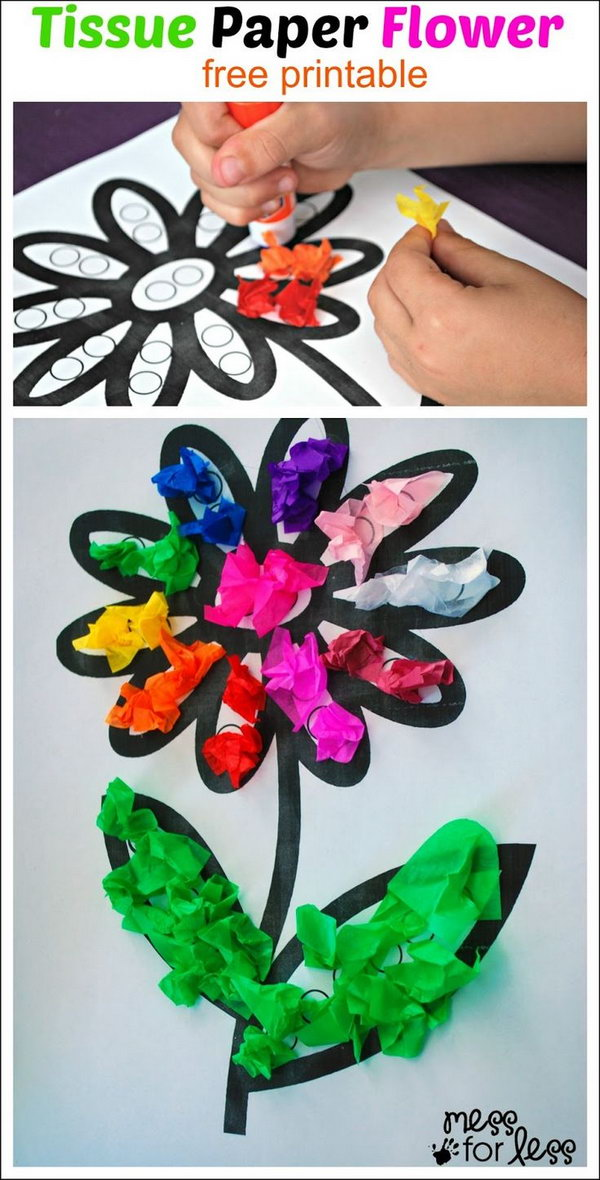 tissue paper crafts create these easy tissue paper crafts and with 3114