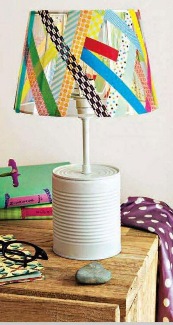 Line the Lampshade.