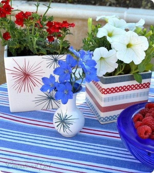 Decorate a Planter.