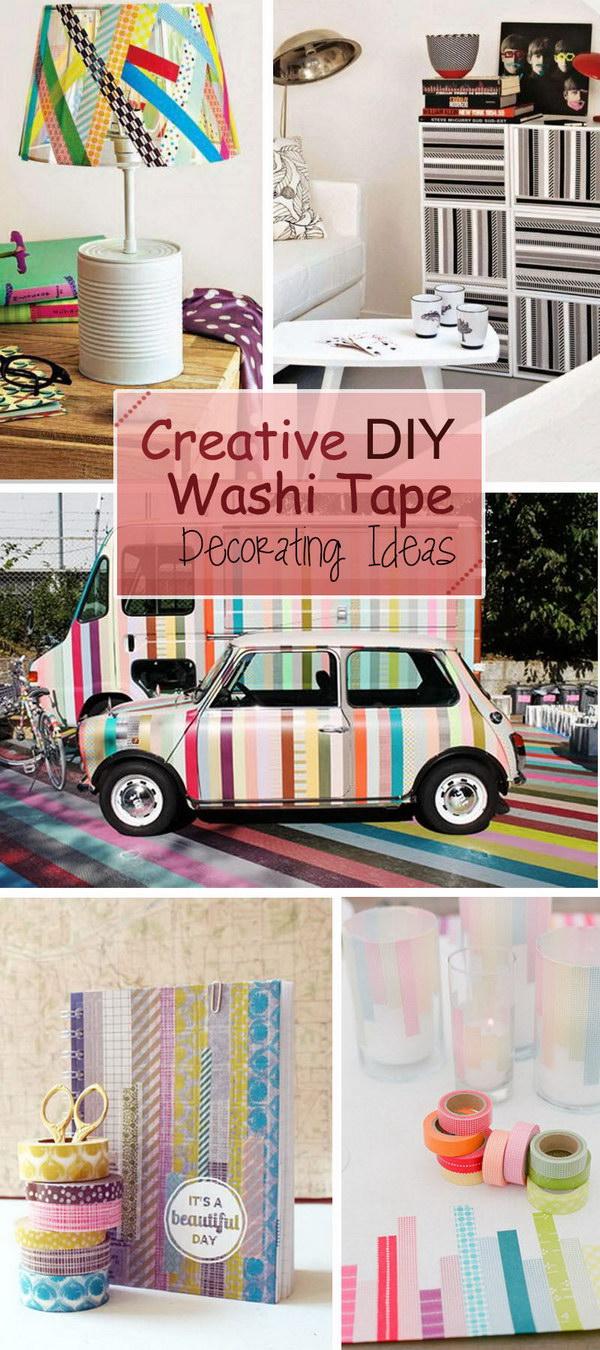 Creative DIY Washi Tape Decorating Ideas!