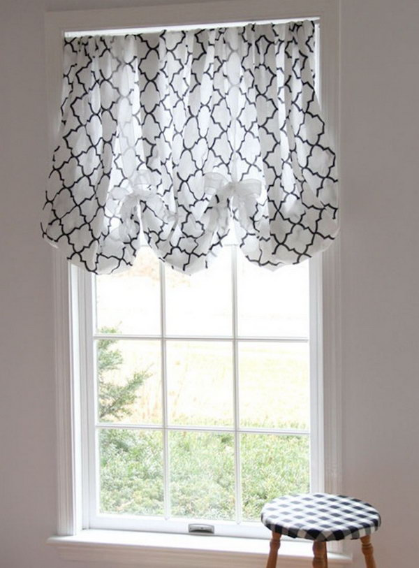 Fitted Sheet Window Shade. See the tutorial