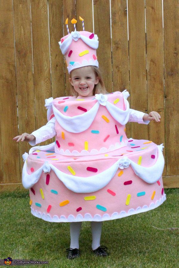 Pink Cake Costume.