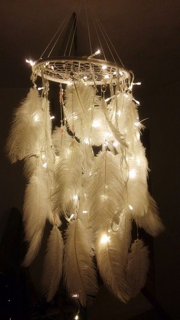 Amazing Dream Catcher Lamp.