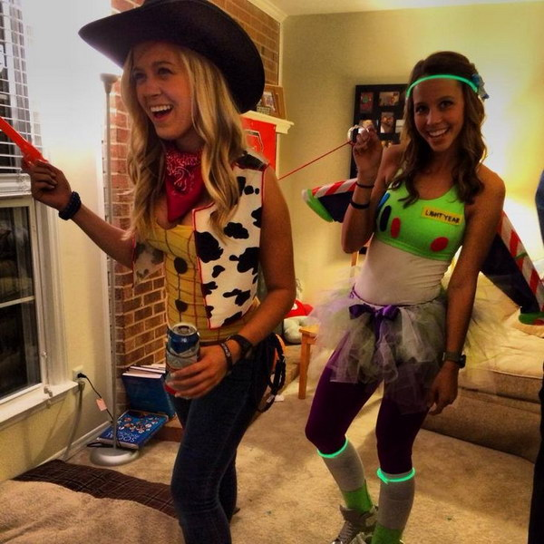 Buzz Lightyear and Woody Costume