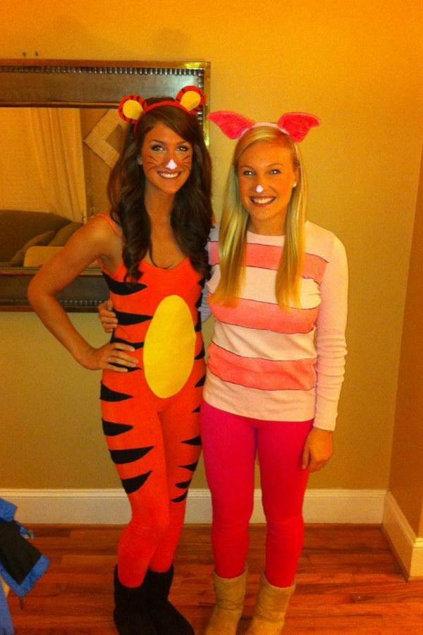 Tigger and Piglet Halloween Costume