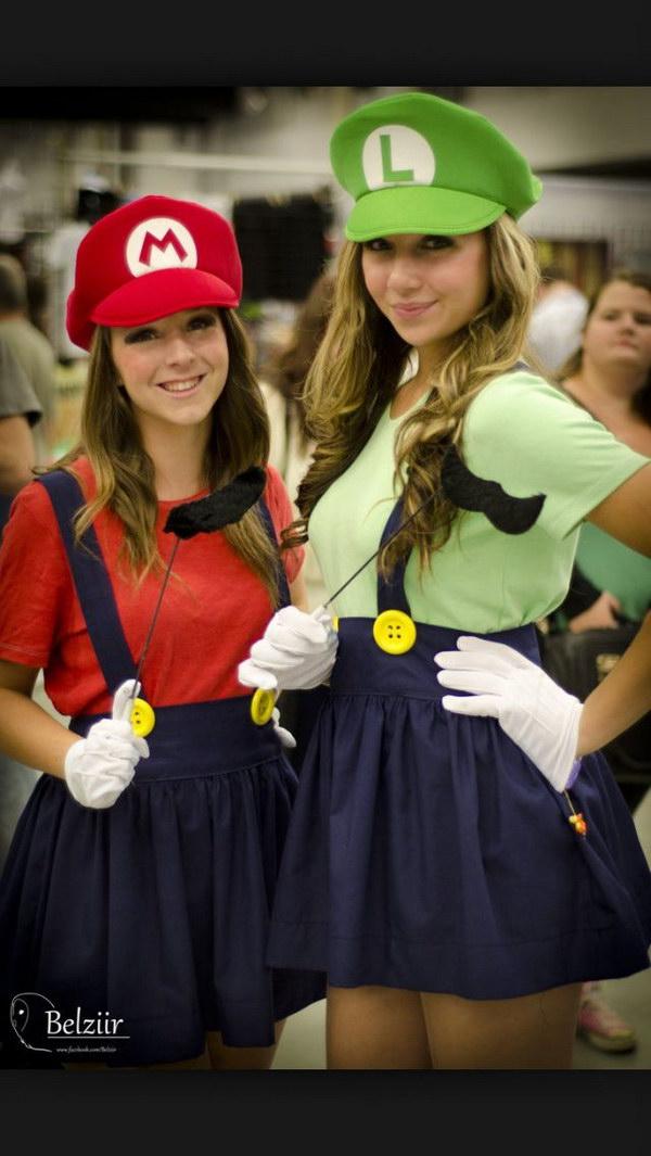 Mario and Luigi Best Friends Costumes