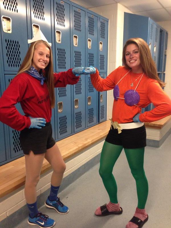 Partner Pair Halloween Costumes