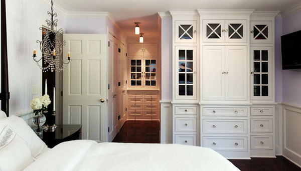 Incorporate Closet and Hall Closet in Room.