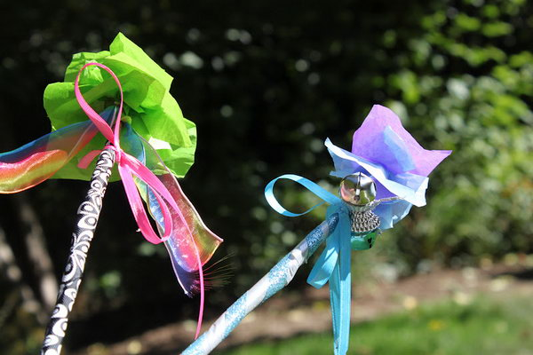 Beautiful Fairy Wand for Little Girls.