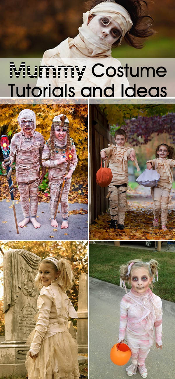 Awesome Mummy Costume Tutorials and Ideas!