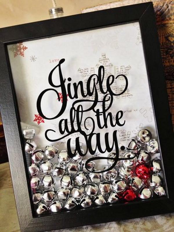 Jingle Bell Shaker Box