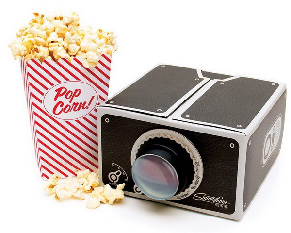 Smartphone Projector. This is the perfect gift for men who love to watch home movies in the comfort of his own bedroom.