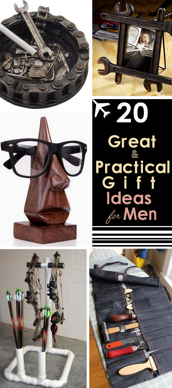 Great & Practical Gift Ideas for Men!