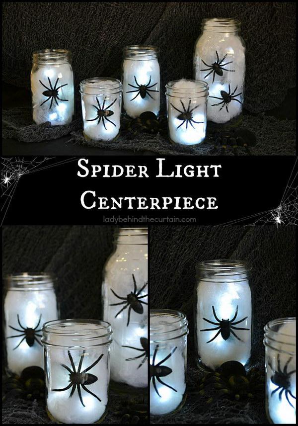 DIY Spider Lantern