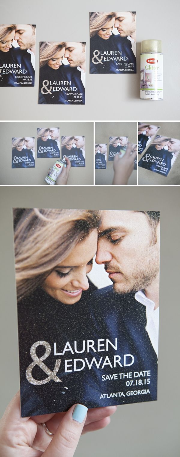 Stylish and Elegant Save the Date Cards