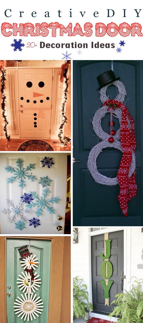 Diy Christmas Door Decoration Ideas