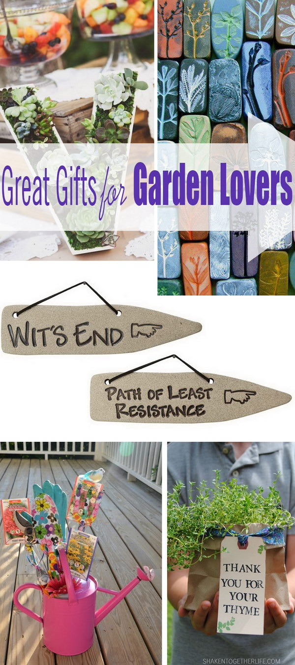 Great Gifts for Garden Lovers!