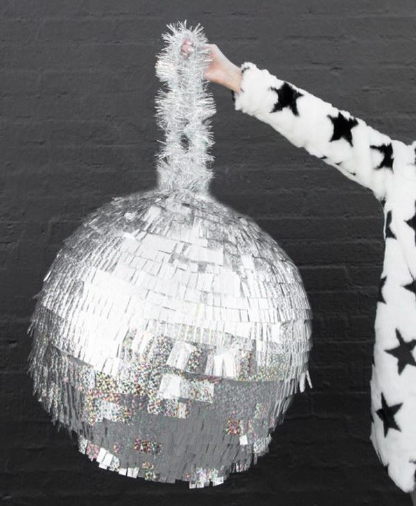 DIY Disco Ball Pinata