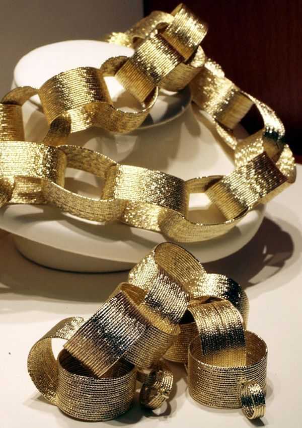 Gold Paper Chain