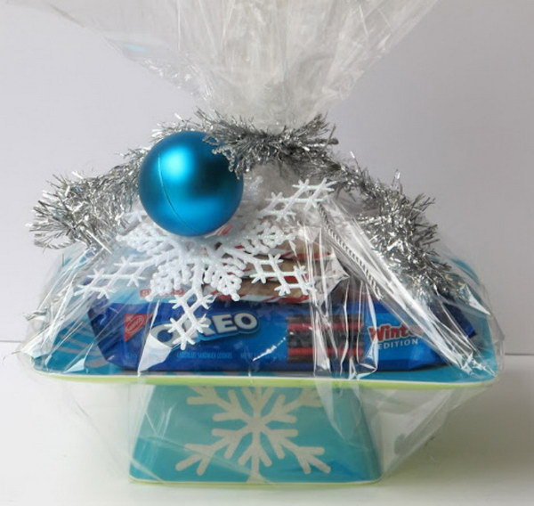 Cake Stand Secret Santa Gift.